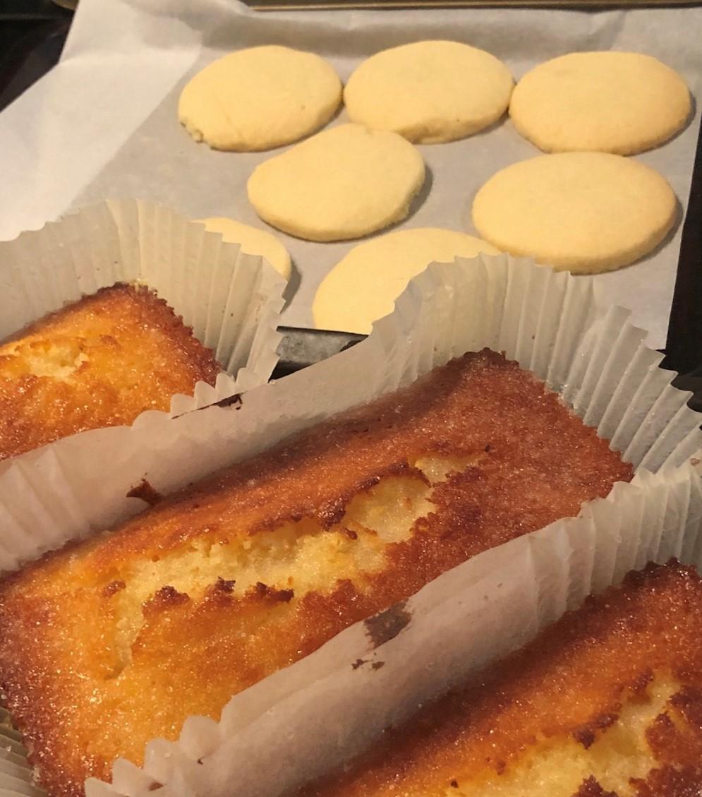 more baking
